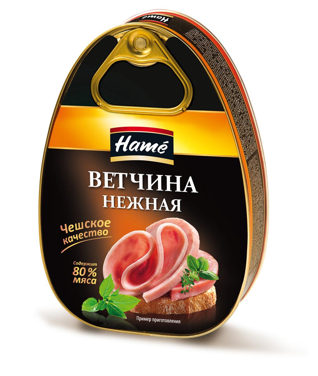 Hame Ветчина нежная, 340 г hame татарский кетчуп 325 г