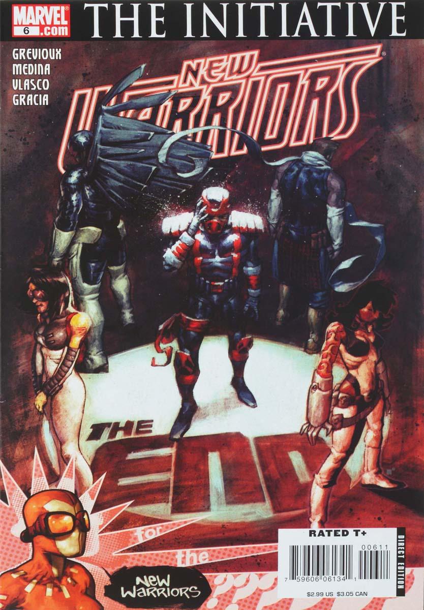 Kevin Grevioux, Paco Medina, Juan Vlasco, Marte Gracia New Warriors #6 secret warriors volume 6