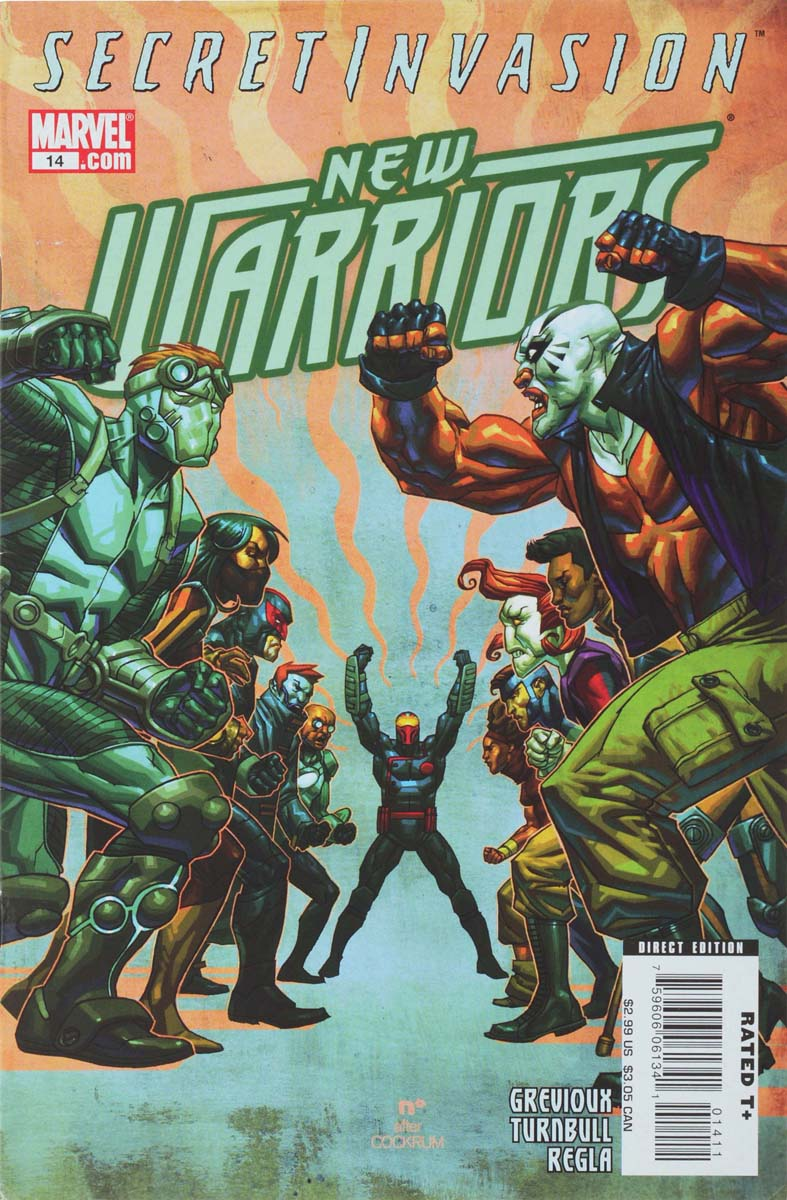 Kevin Grevioux, Koi (Coy) Turnbull, Sal Regla New Warriors #14