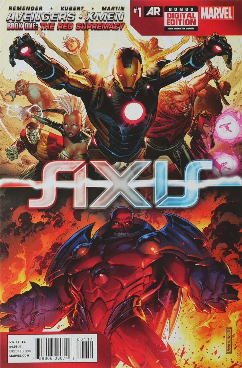 Remender R., Kubert A., Martin L. Avengers & X-Men: AXIS #1