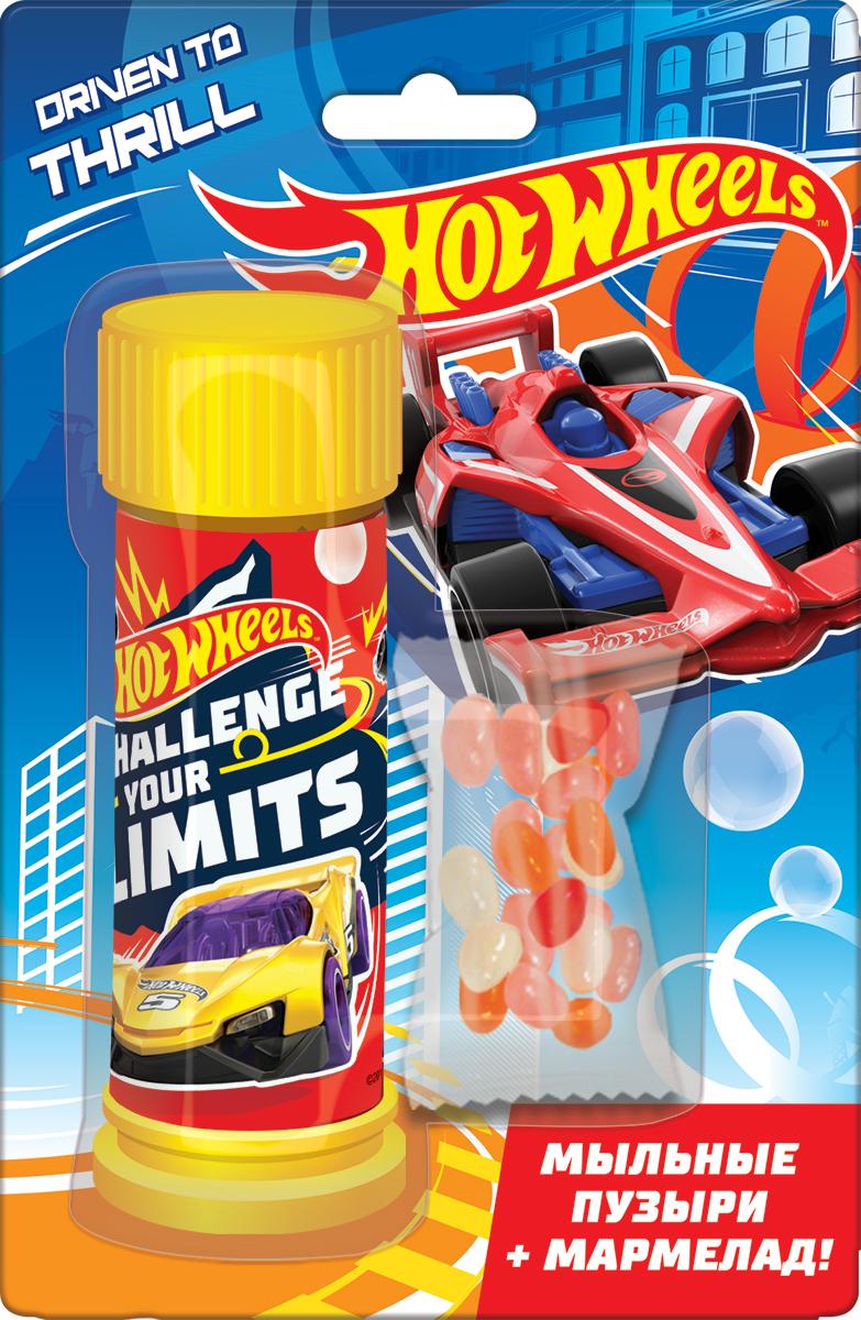 Конфитрейд Hot Wheels мармелад жевательный в глазури с игрушкой, 5 г конфитрейд дисней мармелад жевательный с игрушкой 5 г