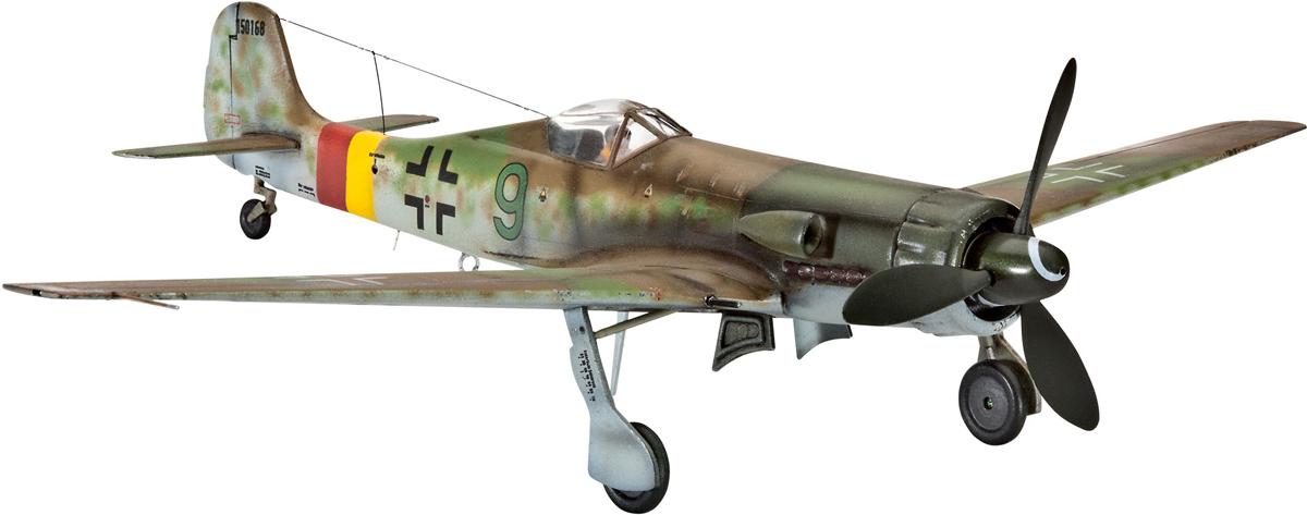 цена на Revell Модель для сборки Сборная модель немецкого самолета Focke Wulf Ta 152 H