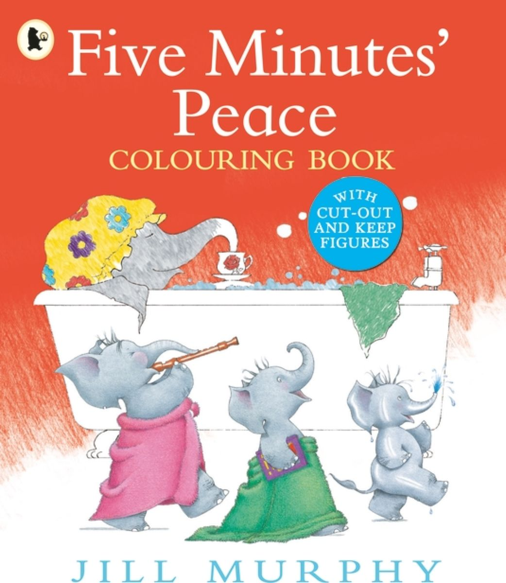 Five Minutes' Peace: Colouring Book mummy and me sticker colouring book