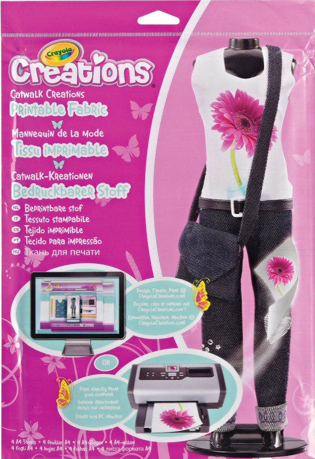 Crayola Ткань для создания модных нарядов Подиум crayola подиум ткань для принтов crayola