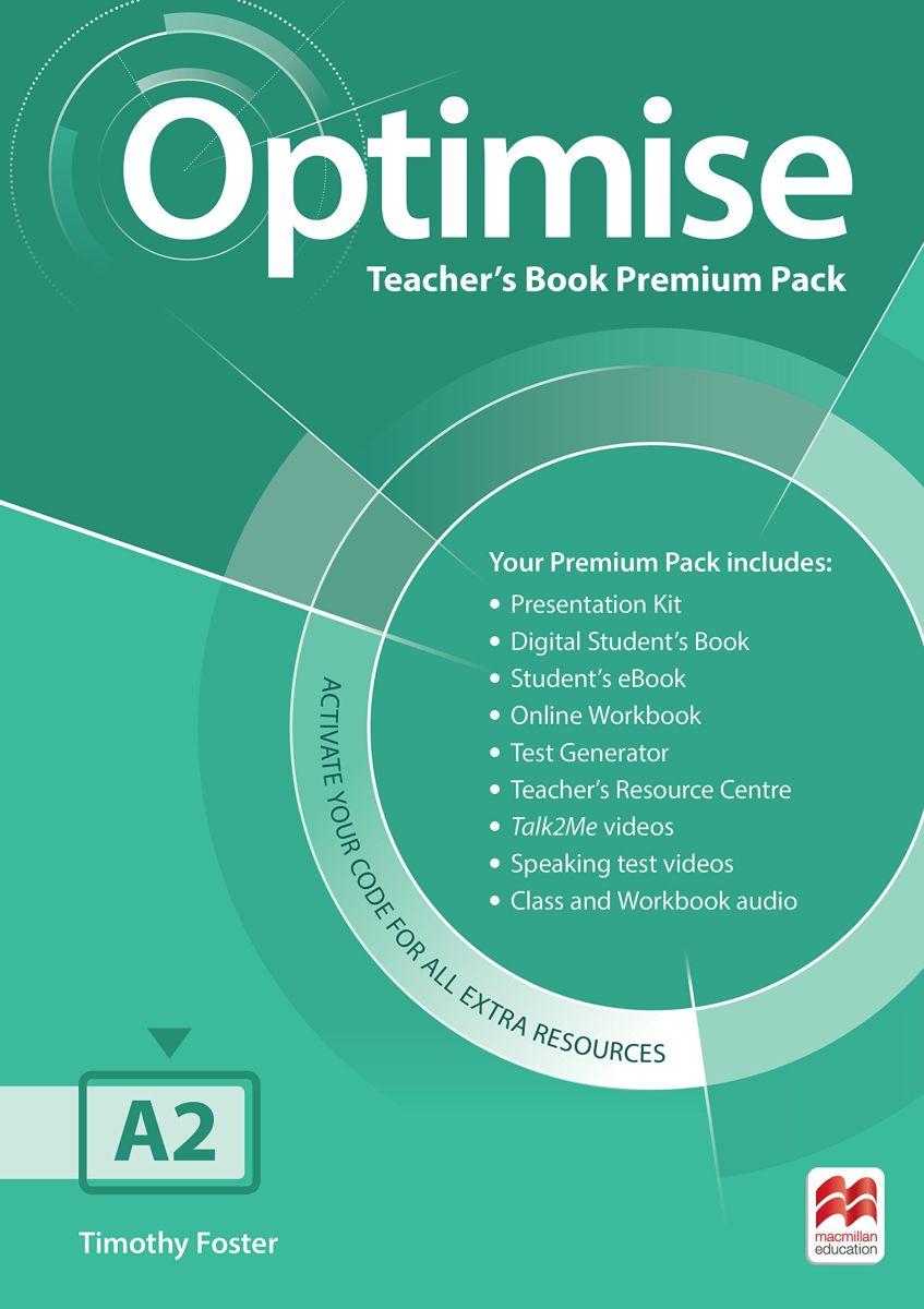 Optimise: Teacher's Book Premium Pack: Level A2