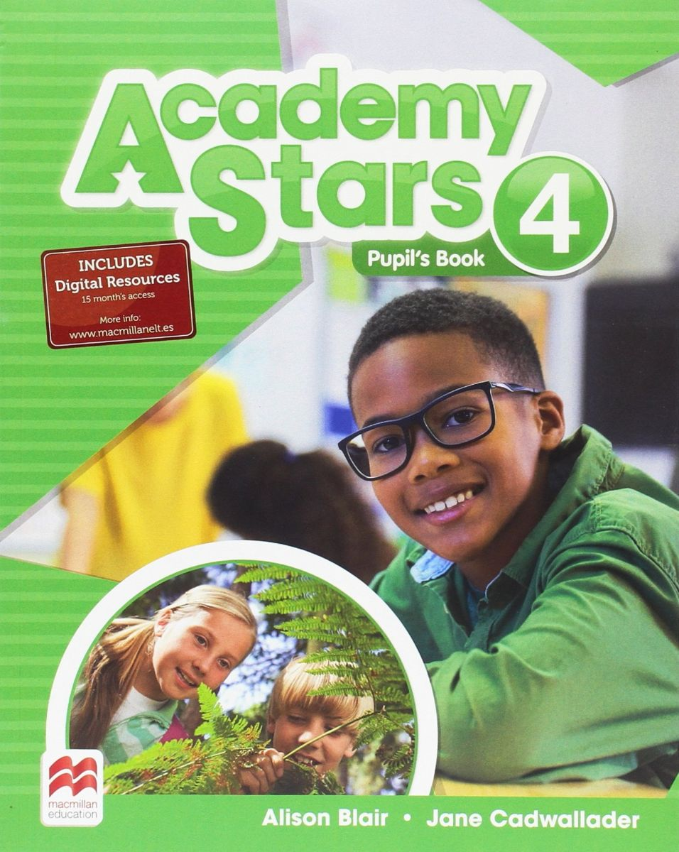 Academy Stars: Pupil's Book: Level 4 big english plus level 1 pupil s book with myenglishlab access code pack