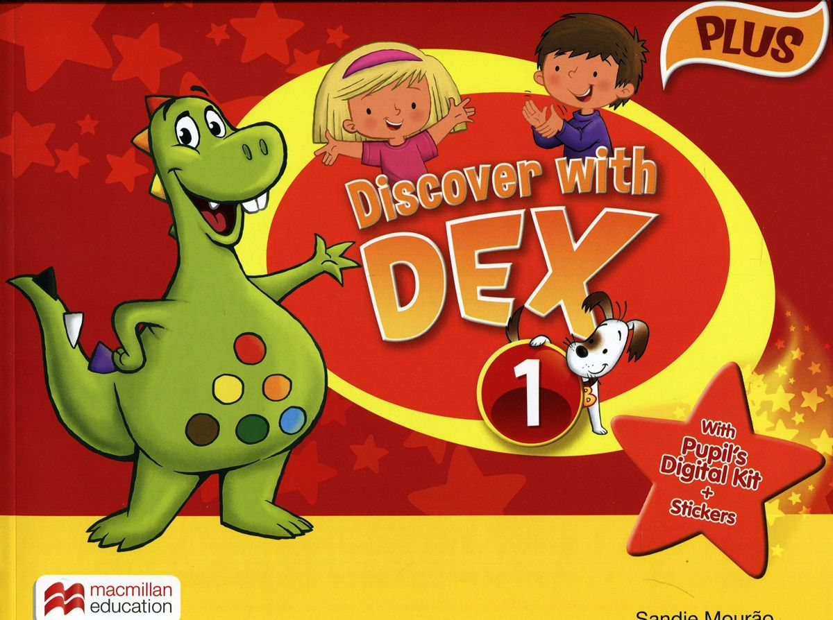 Discover with Dex: Level 1: Pupil's Book big english plus level 1 pupil s book with myenglishlab access code pack