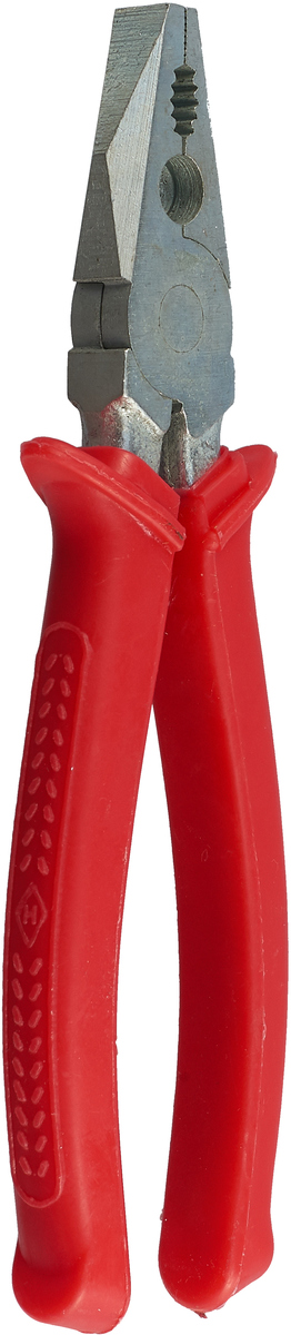 Плоскогубцы Russia, комбинированные, цвет: красный, длина 20 см
