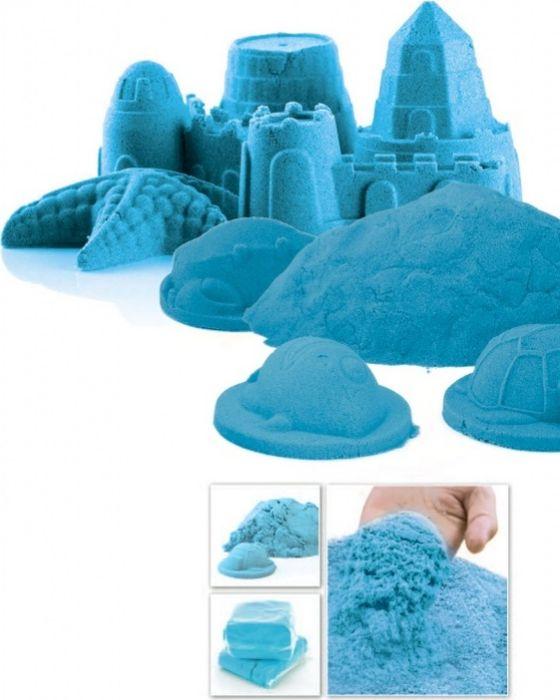 Bradex Песок кинетический Чудо-песок wg супер кинетический песок цветной 0 5 кг в ведерке красный