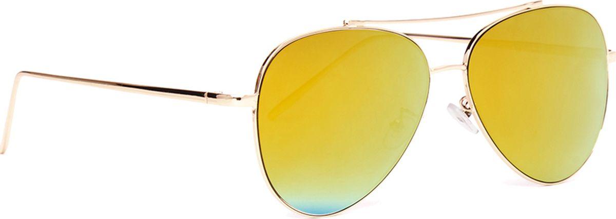 Очки солнцезащитные женские Vitacci, цвет: золотой. SG1202SG1202Модные солнцезащитные очки Vitacci. Линзы выполнены из пластика с поляризационным покрытием. Такой аксессуар будет идеально сочетаться с летним ярким образом. Рекомендуем!