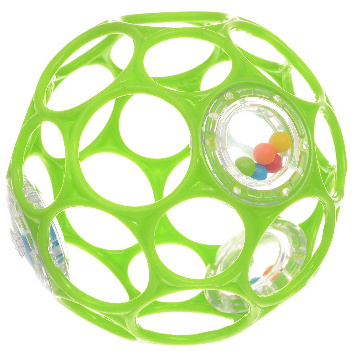 Развивающая игрушка Oball 11483_салатовый oball развивающая игрушка twist o round