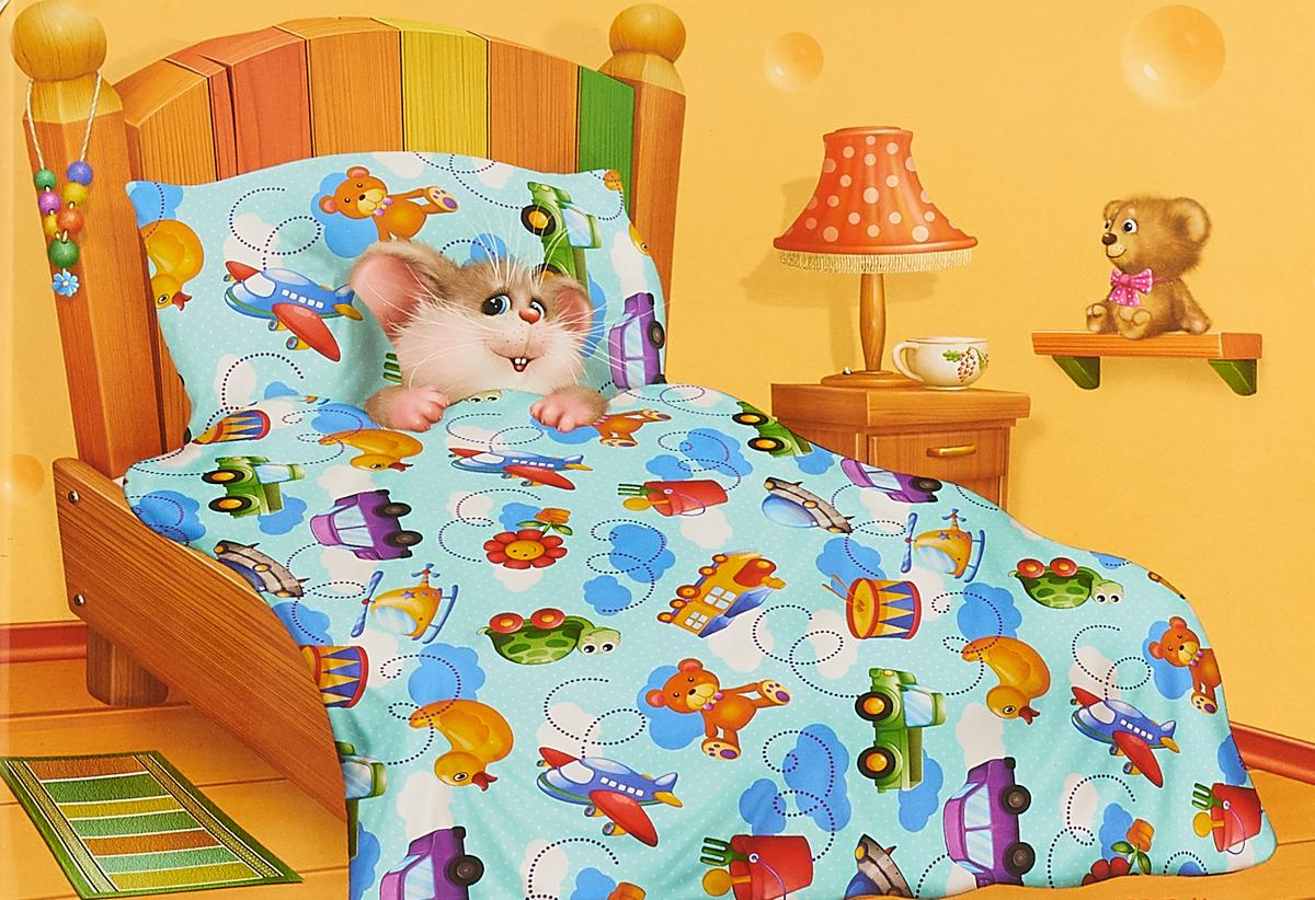 Комплект в кроватку Кошки-Мышки Игрушки, детский, наволочка 40x60 наволочка для подушки кошки мышки