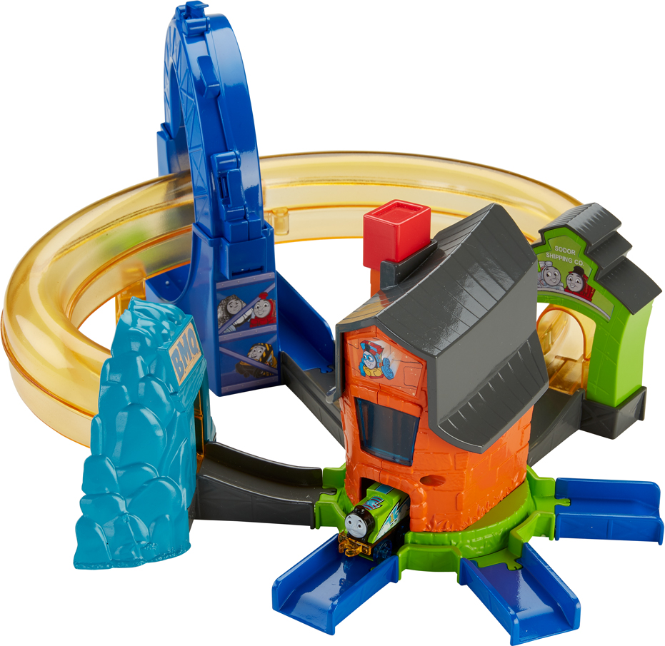 Thomas And Friends Minis Железная дорога Опасное приключение