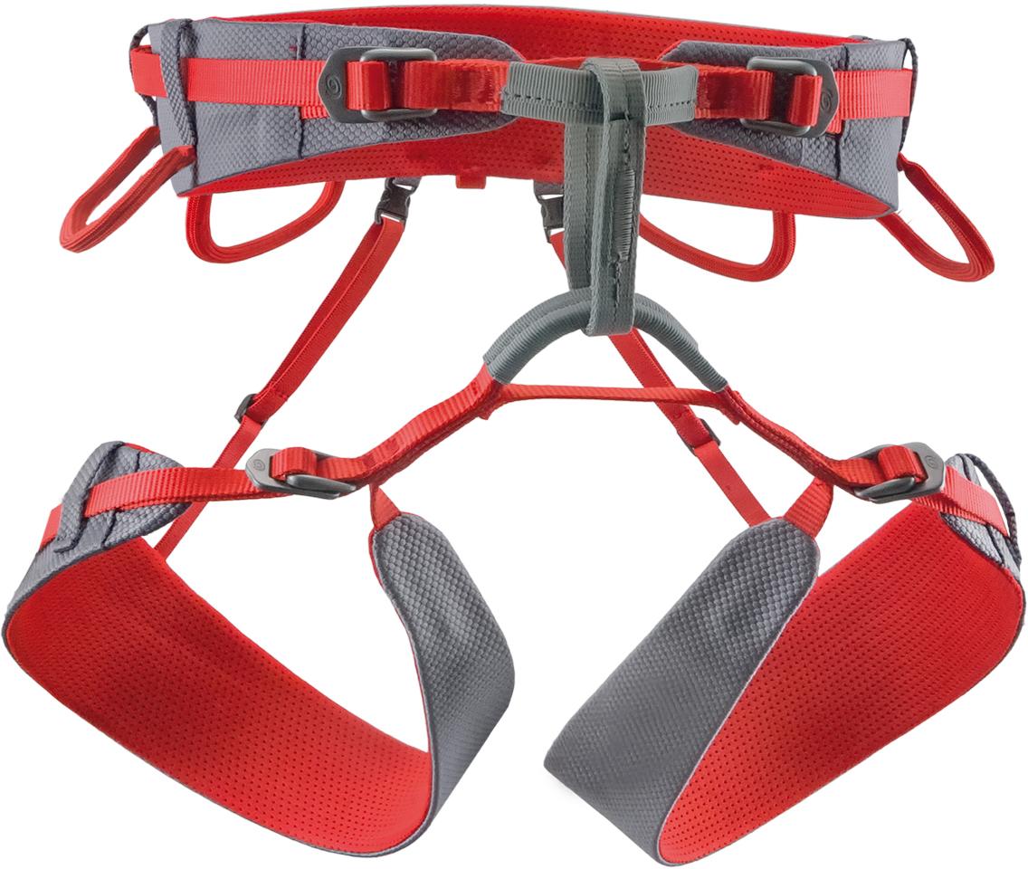 Обвязка спортивная Rock Empire 4b Slight, цвет: серый, красный. Размер XS/M легкая обвязка edge