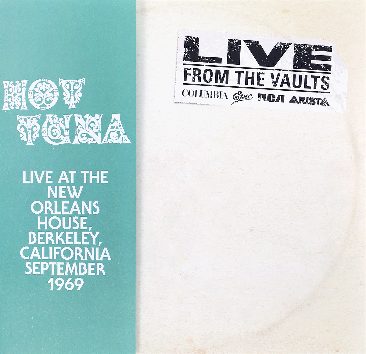 Hot Tuna Hot Tuna. Live At The New Orleans House (2 LP) who who live at hyde park 3 lp