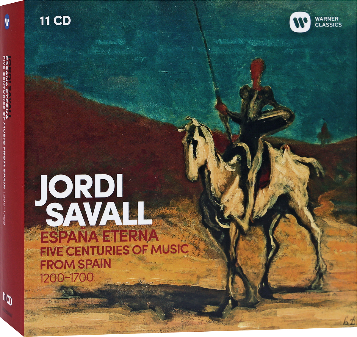 Хорди Саваль Jordi Savall. Espana Eterna (11 CD) набор инструментов oasis набор инструментов мастер 496520 серебристый