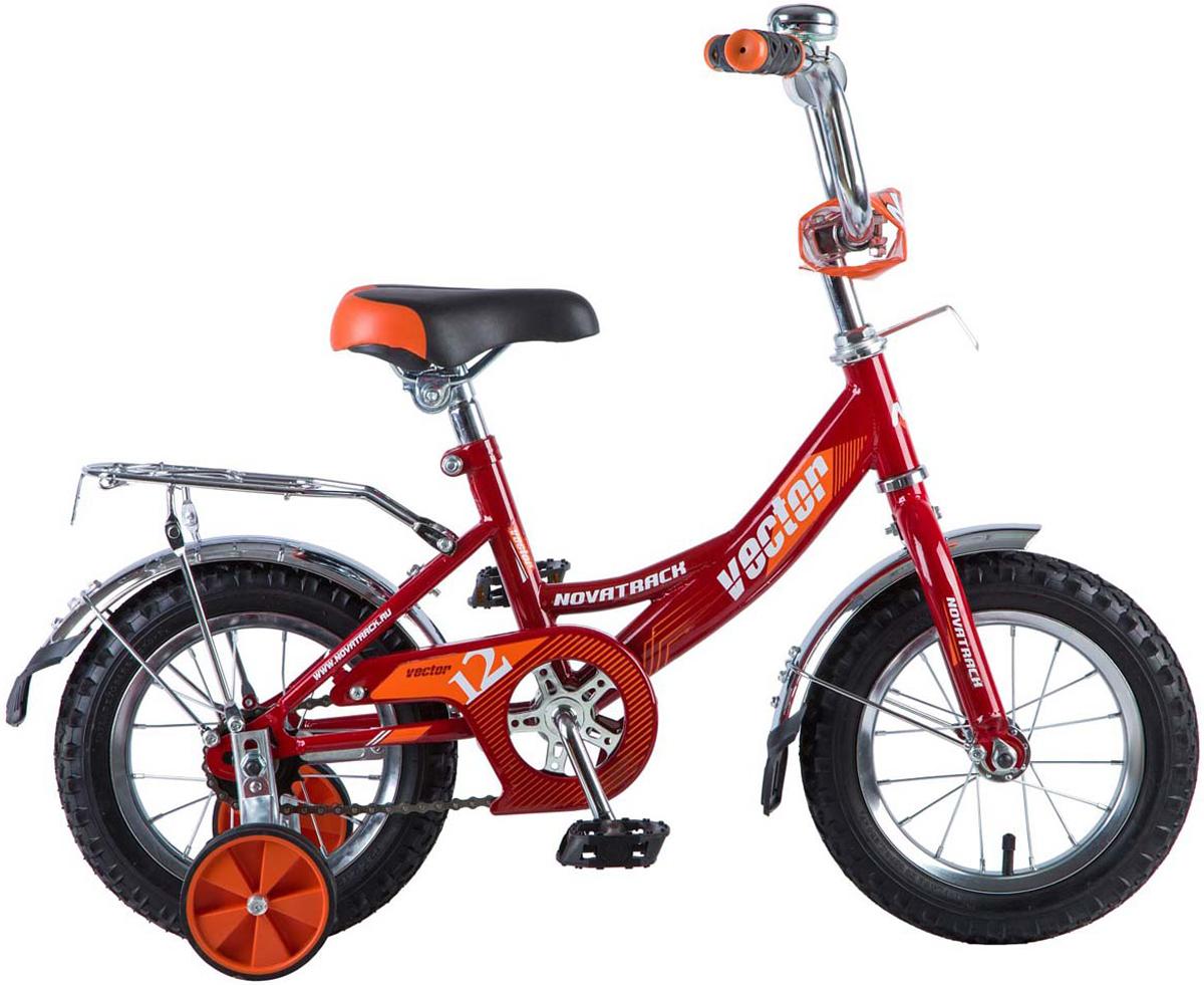цена на Велосипед детский Novatrack Vector, цвет: красный, 12