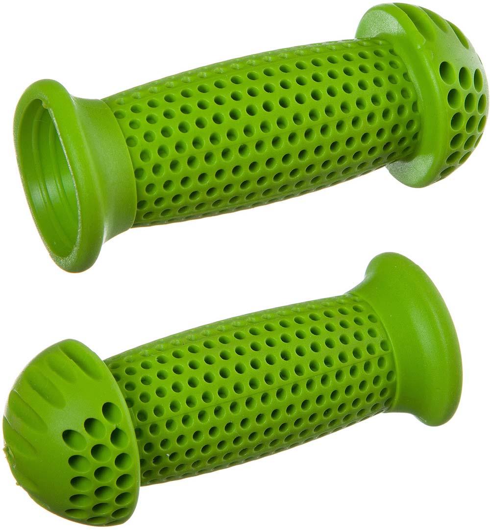 Грипсы-грибочки STG GR112, 100 мм, цвет: зеленый, для самоката и велосипеда