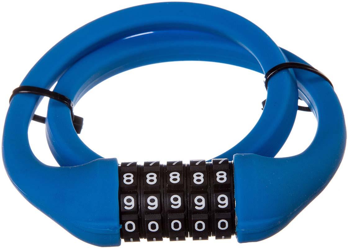 Велозамок STG, кодовый, цвет: синий. TY4538