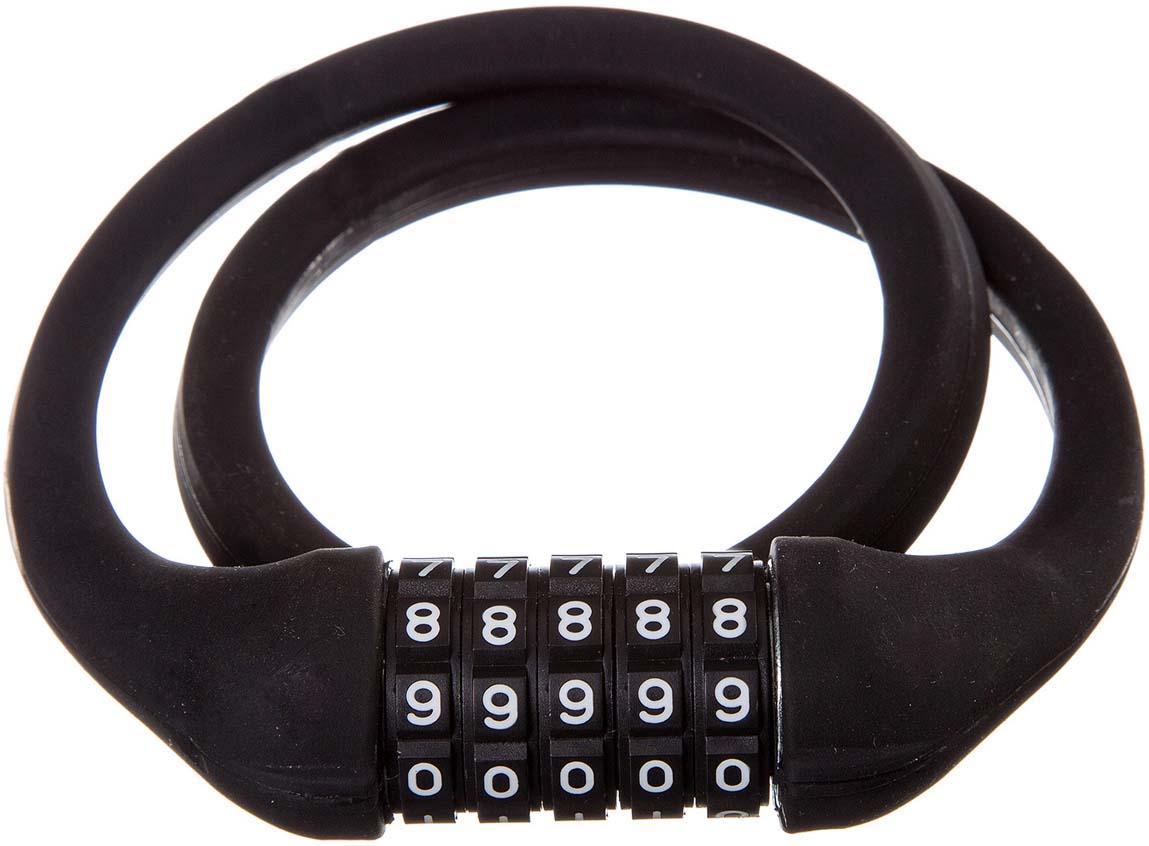 Велозамок STG, кодовый, цвет: черный. TY4538
