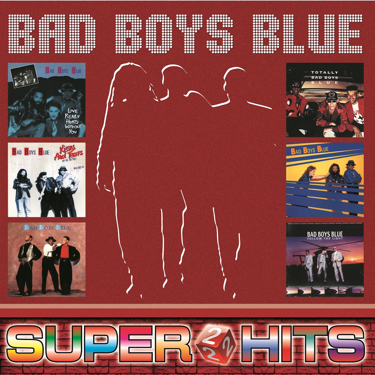 Bad Boys Blue Bad Boys Blue. Super Hits Volume 2 (LP) nina dj bobo sin with sebastian londonbeat haddaway mr president pandera bad boys blue пэтти райан кен лацло золото дискотек лучшие танцевальные хиты 80х 90х часть 2 mp3