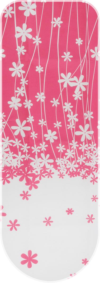 Чехол для гладильной доски Metaltex Special, цвет: белый, красный, 135 х 50 см metaltex 25 24 50