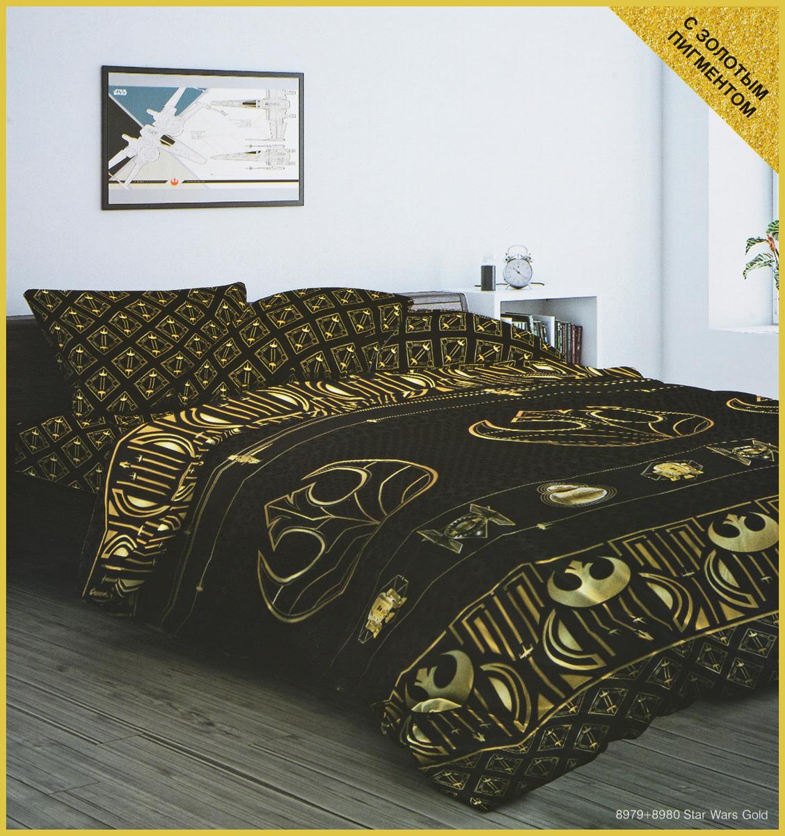 Комплект постельного белья Star Wars, 2-спальный, наволочки 70x70 сколько ткани нужно для пошива 2 х спального комплекта