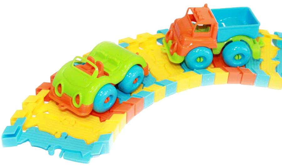 Пластмастер Мини-трек Малютка машинки и техника пластмастер малютка