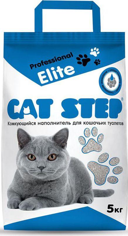 Наполнитель для кошачьих туалетов Cat Step Professional Elite, комкующийся, 5 кг Уцененный товар (№9)