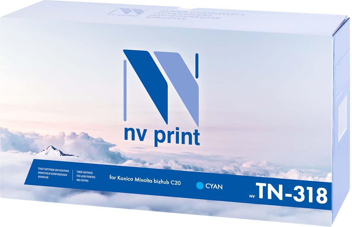 Тонер-картридж NV Print TN-318, голубой, для лазерного принтера, совместимый