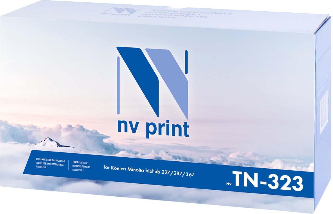 Тонер-картридж NV Print TN-323, черный, для лазерного принтера, совместимый