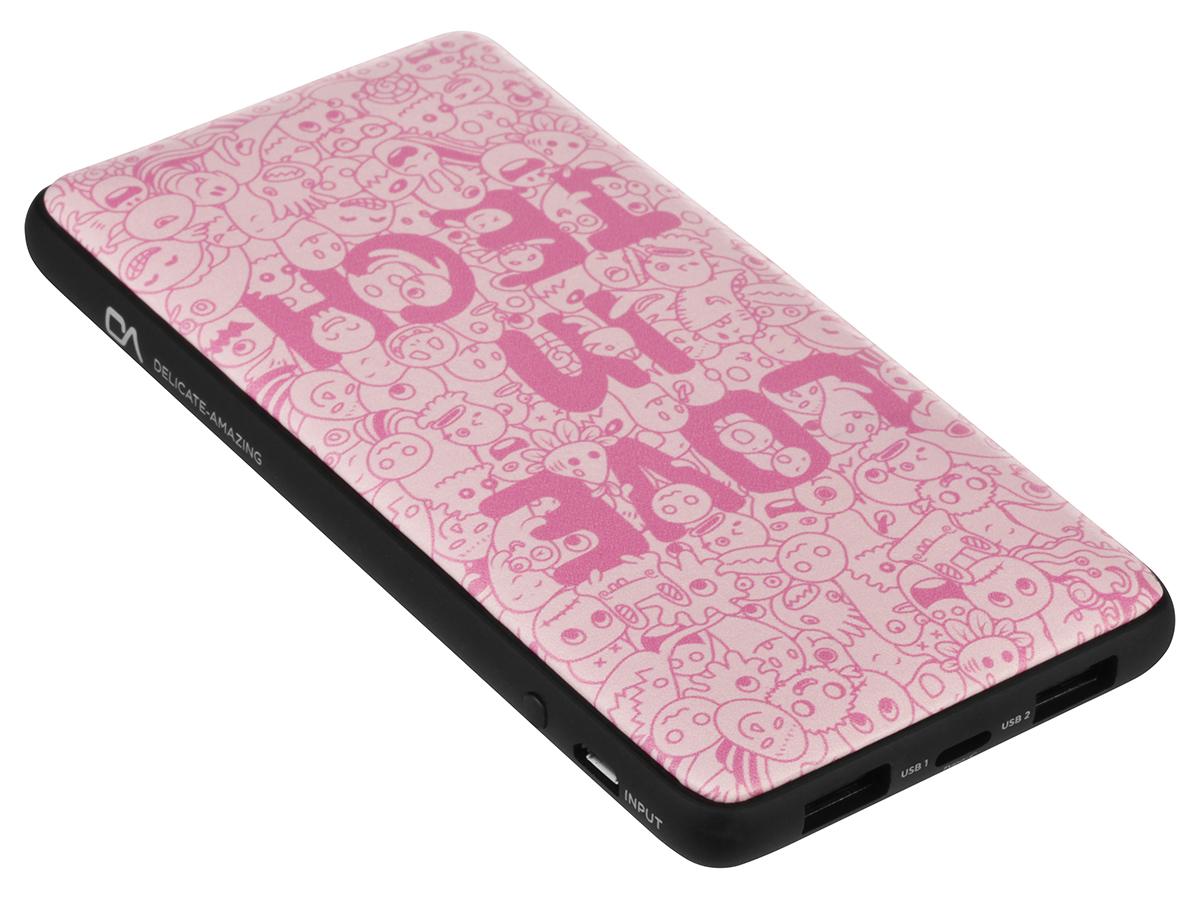 Внешний аккумулятор DA DT0021PK, розовый