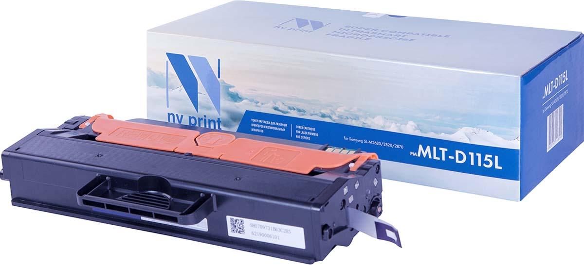 Тонер-картридж NV Print MLT-D115L, черный, для лазерного принтера, совместимый