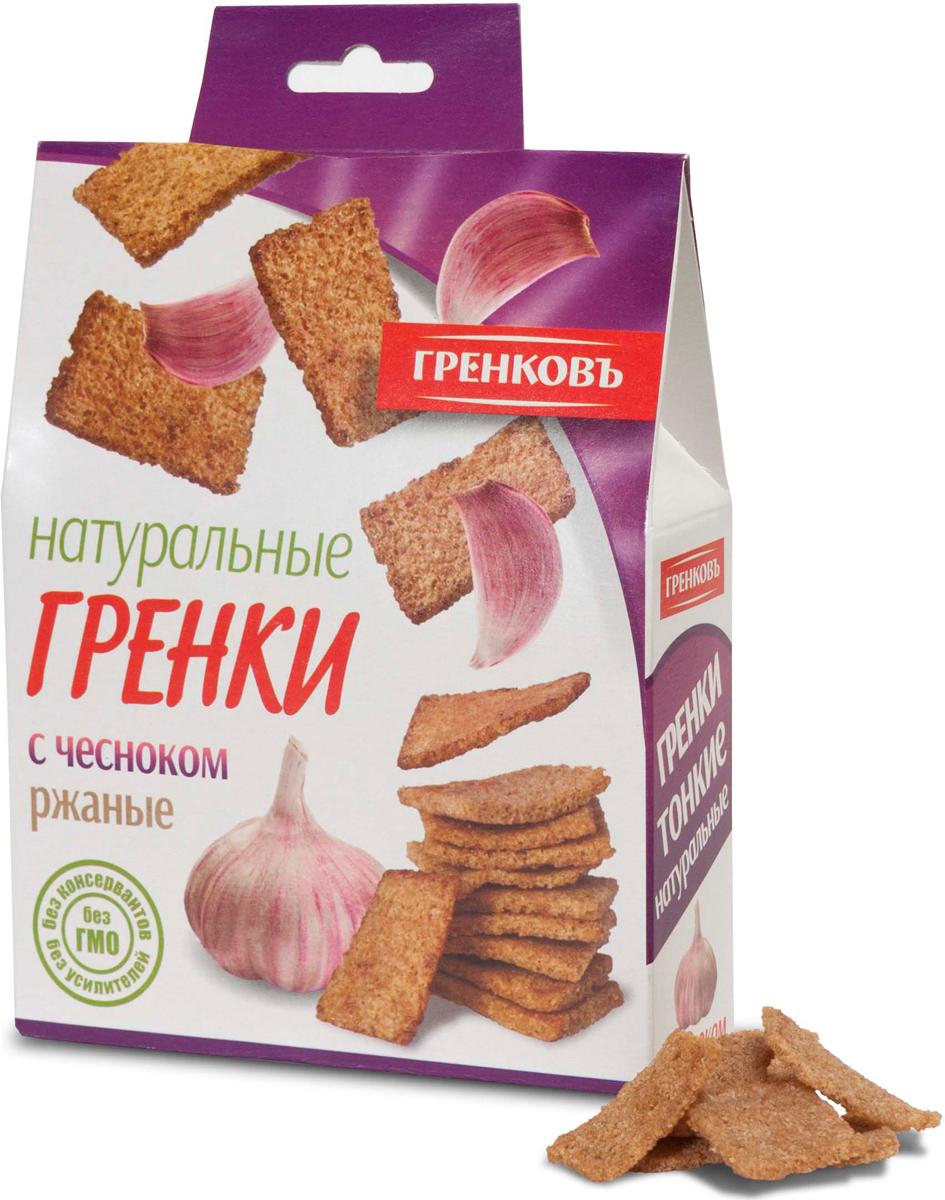 Гренковъ Сухарики-гренки ржано-пшеничные с чесноком, 70 г гренковъ сухарики ржаные с луком и чесноком 100 г