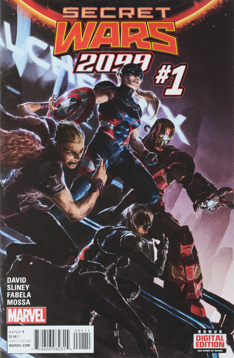 Peter David, Will Sliney Secret Wars 2099 #1