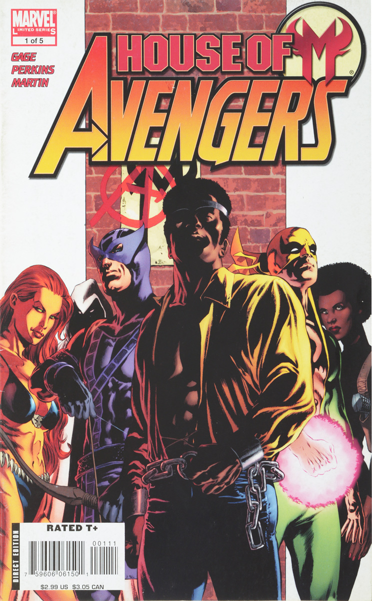 Christos N. Gage, Mike Perkins, Laura Martin House of M: Avengers #1 remender r kubert a martin l avengers