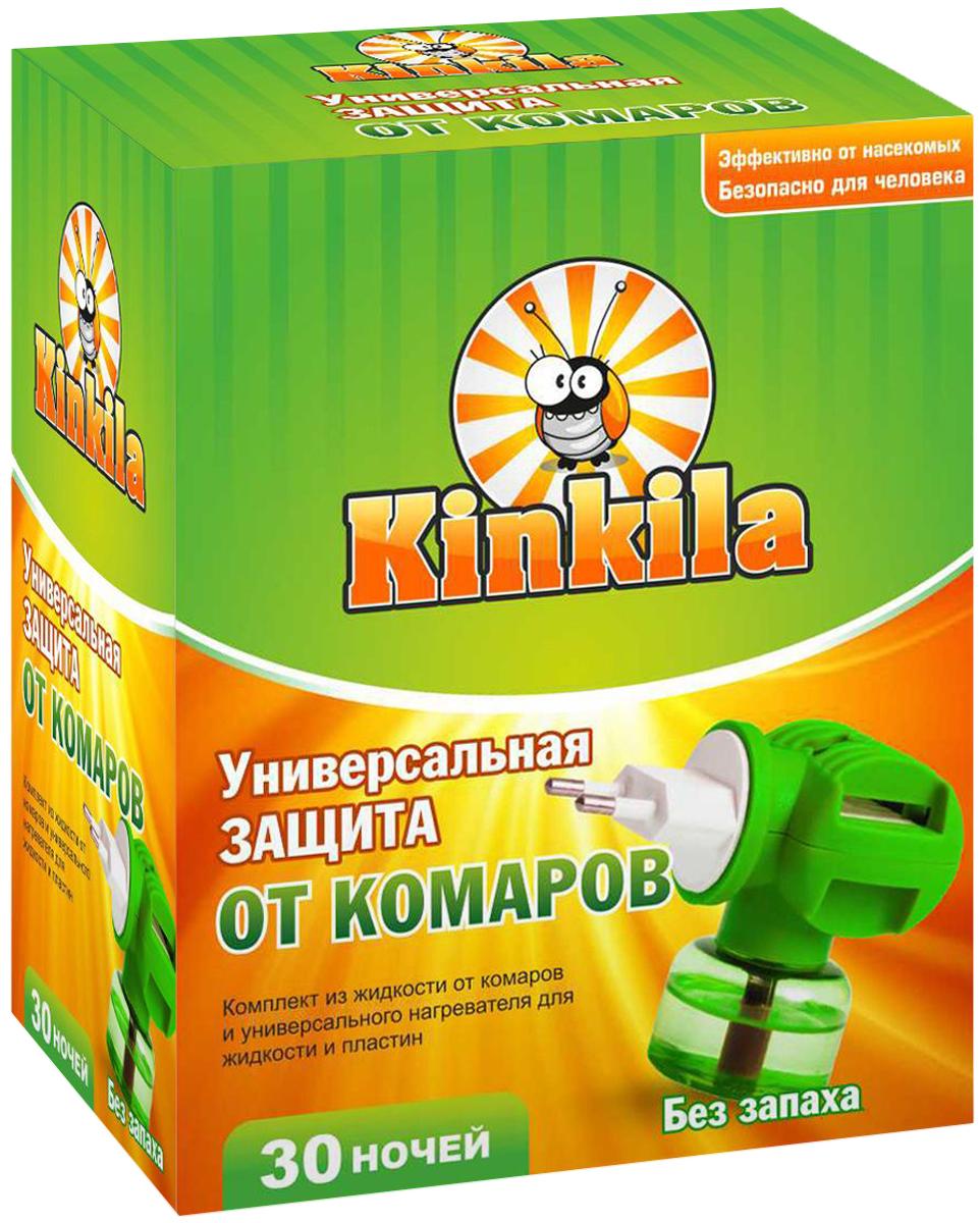 Средство от комаров Kinkila 30 ночей с фумигатором от комаров домашнее средство
