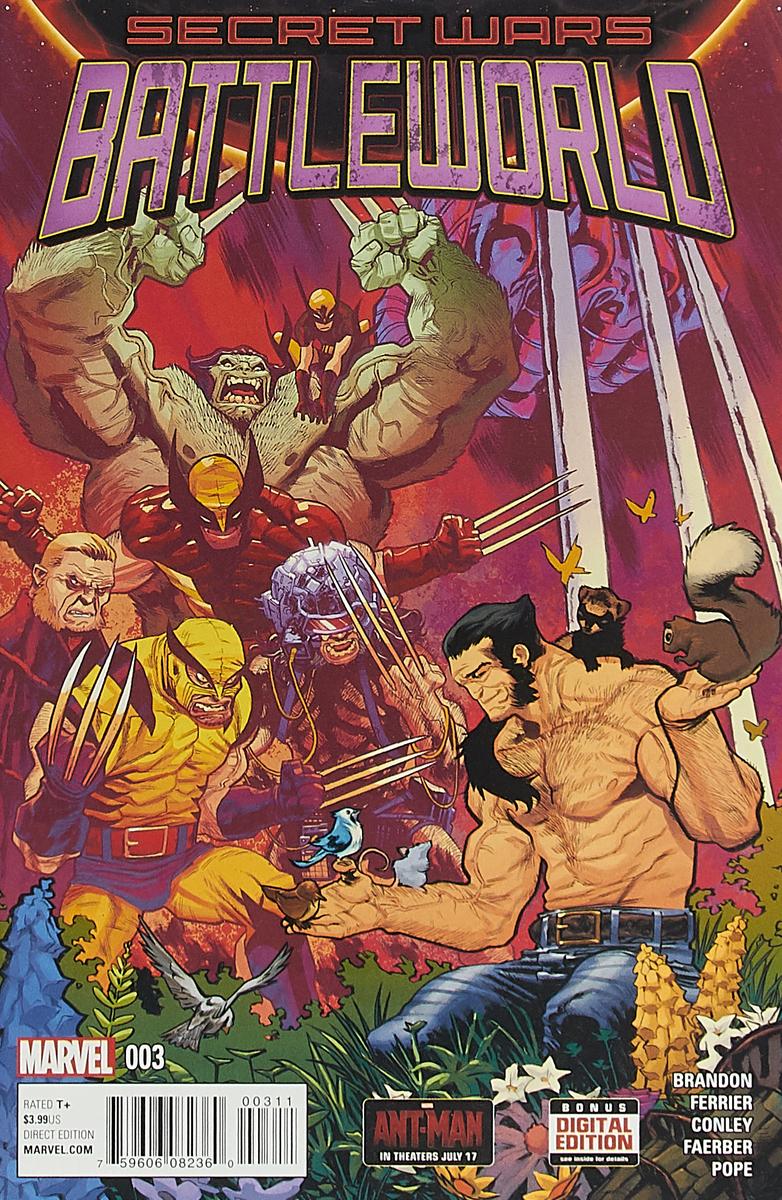 Ivan Brandon, Ryan Ferrier, Aaron Conley Secret Wars: Battleworld #3 anne conley click