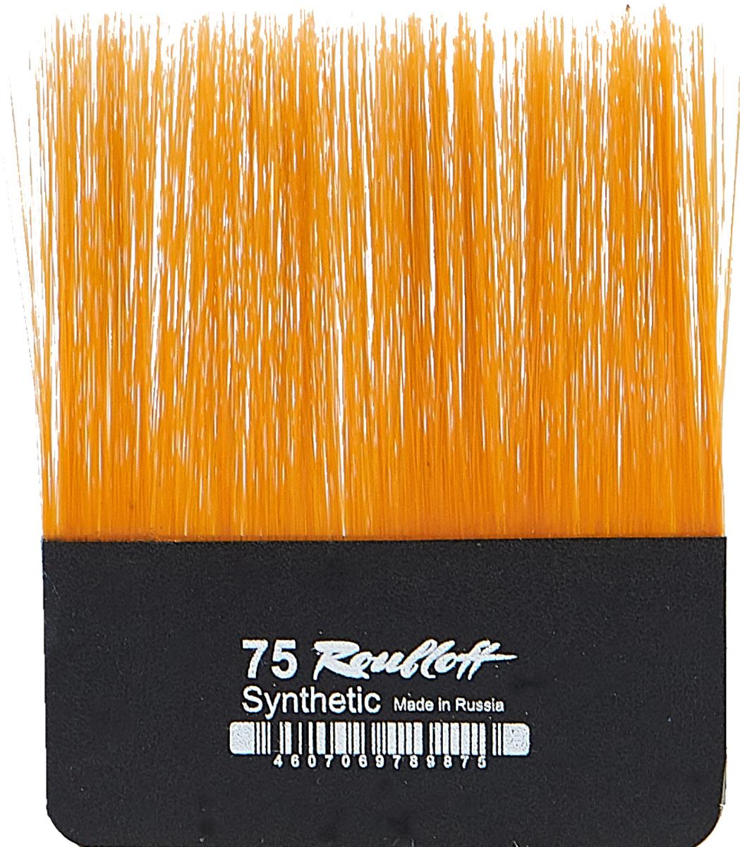 Roubloff Кисть для работы с золотом синтетика № 75 roubloff кисть 1222 синтетика плоская 36 длинная ручка