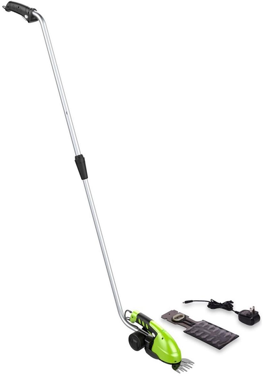 Ножницы-кусторез Greenworks, аккумуляторные, с удлиненной ручкой аккумуляторные садовые ножницы кусторез greenworks 2903307 page 5