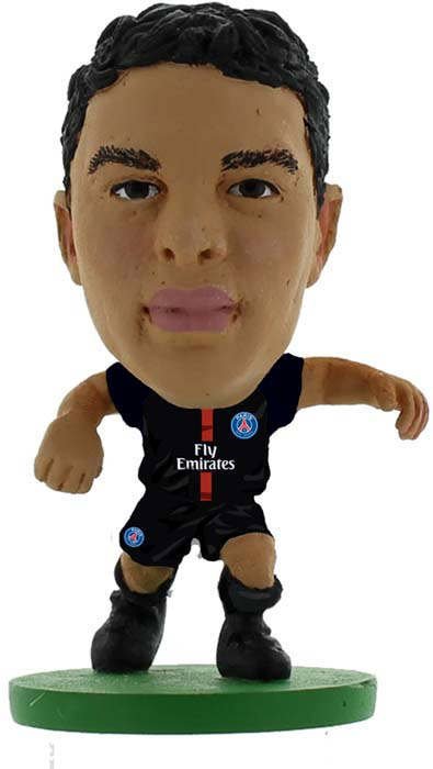 Фигурка SoccerStarz футболиста ФК ПСЖ Paris St Germain Thiago Silva Home V-2017, 401596