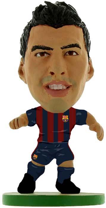 Фигурка SoccerStarz футболиста ФК Барселона Barcelona Luis Suarez Home V-2017, 403039