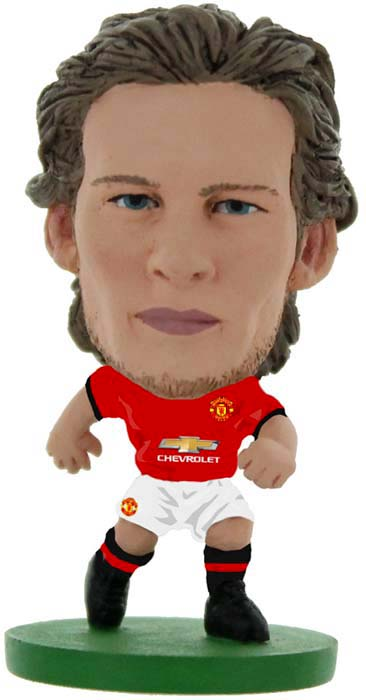 цена на Фигурка SoccerStarz футболиста ФК Манчестер Юнайтед Man Utd Daley Blind Home V-2017, 403085