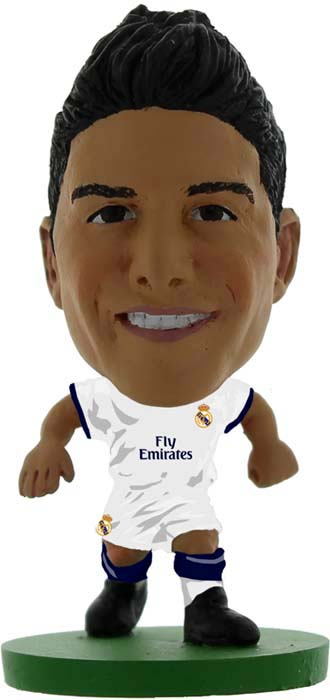 Фигурка SoccerStarz футболиста ФК Реал Мадрид Real Madrid James Rodriguez V-2017, 403106