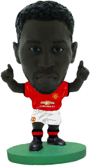 цена на Фигурка SoccerStarz футболиста ФК Манчестер Юнайтед Man Utd Romelu Lukaku Home V-2018, 404259
