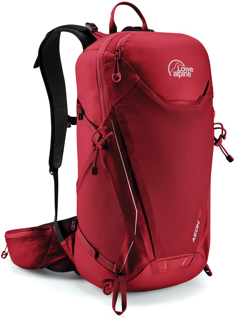 Рюкзак туристический Lowe Alpine Aeon 18 M-L, цвет: красный, 18 л