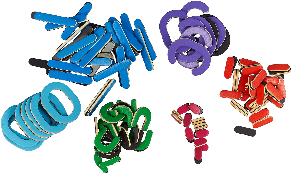 Буквы. 210 элементов для составления букв