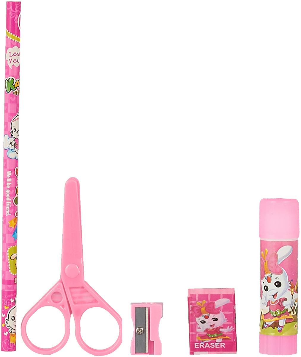 Kamila Back Jo Chool Gift Set Канцелярский набор цвет светло-розовый 5 предметов комплект для девочки cherubino цвет светло розовый серый 5 предметов can 9407 размер 74