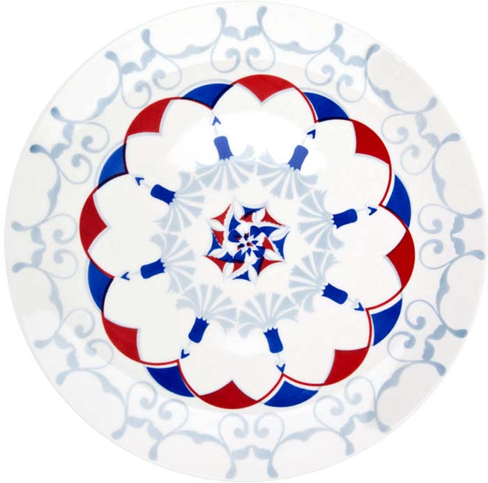 Тарелка обеденная Biona Стамбул, 28 см4604ISTAMBUL-1Обеденная тарелка бразильского производства Biona, выполненная из высококачественной керамики, несомненно, станет украшением как праздничного стола, так и повседневной сервировки. Подходит для использования в посудомоечной машине и СВЧ печи.