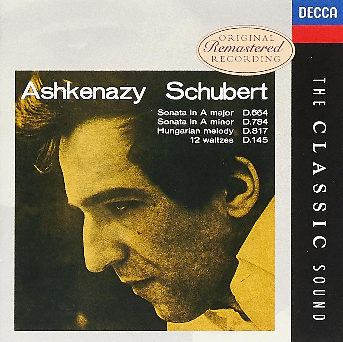 лучшая цена Владимир Ашкенази Vladimir Ashkenazy. Schubert. Piano Sonatas Nos.13 & 14. Ungarische Me (2 CD)